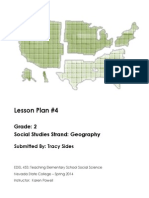 EDEL 453 Geography Lesson Plan Tracy Sides