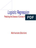 Logistic Regression Predicting the Chances of Coronary Heart Disease