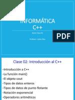 Clase 02 C++