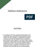07 Energia Hidrualica