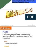 CC01 Fluid Properties