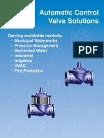 Cla-Val CV Control Solutions Catalog