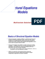 Structural Equations Models