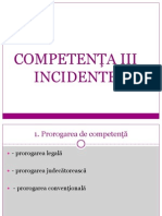 Competenta III - Incidente
