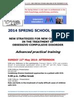 International Spring School SPC-AVM Provisional Program 2014