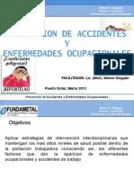 Prevencion de Accidentes y Enf.ocupacionales Marzo2014