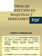 Tipo de Proteccion en Maquinas y Herramientas