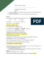 Soluciones examen estequiometria