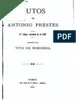 Autos de Antonio Prestes