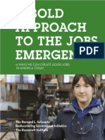 A Bold Approach to the Jobs Emergency