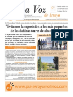 La Voz de Arroyo. Nº Octubre 2013 www.pia-arroyomolinos.com