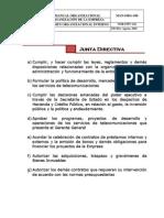 Funciones Junta Directiva Hondutel