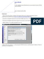 Manual Configuracion Mikrotik