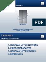 26 Heisplan MP Solutions Nye Heiser i Eksiterede Byggninger