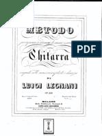 Luigi Legnani_op 250, Metodo