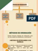 Metodos de Ordenacion y Busqueda(Trabajo)