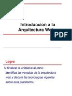 Unidad 1- Introducción a la Arquitectura Web