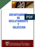 1 DEPARTAMENTO DE RECLUTAMIENTO Y SELECCION