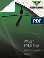 Kelley WAVE™ HVLS Fan Brochure
