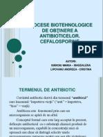 proiect ANTIBIOTICE-CEFALOSPORINE2