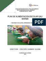 Plan Qaliwarma 2014