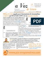 La Voz de Arroyo. Nº Enero 2014 www.pia-arroyomolinos.com