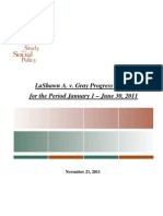 LaShawn a. v. Gray Progress Report November 21 2011 (1)