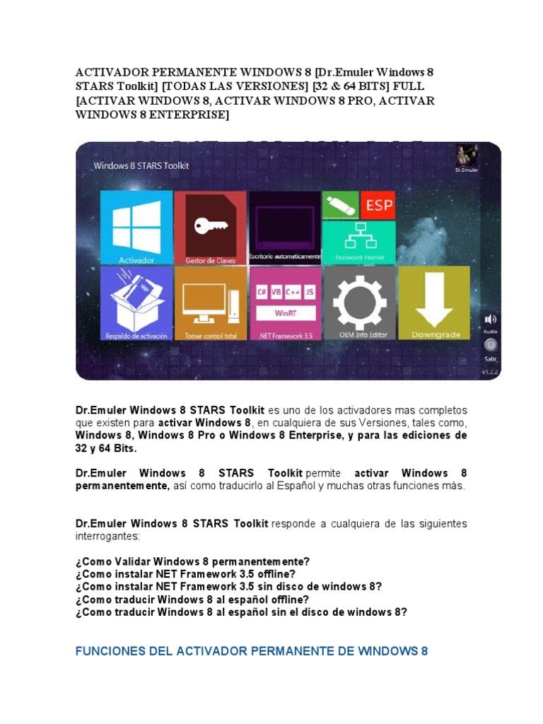 activar windows 8.1 pro toolkit