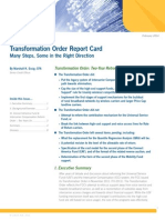 FCC Transformation Order Report Card