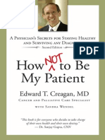 How Not to Be My Patient