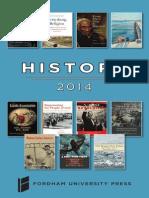 2014 History Brochure