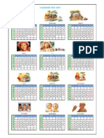 Calendar for Lifetime