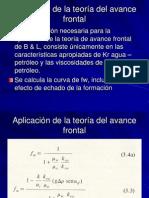 C3-3 ECUACIÓN DE AVANCE FRONTAL