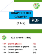 Chapter 10 GROWTH