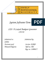 System Software Term Paper