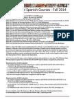 Courses Span Fall 2014 - George Mason University