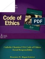 Catholic Charities USA Code of Ethics and Social Responsibility