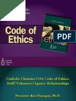 CCUSA Code of Ethics--Staff Volunteer Agency Relationships