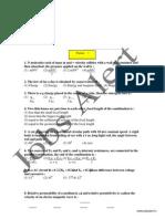 Physics Paper 1 Jobs Alert