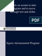 Squires Advancement Prog.