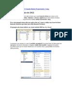 Mantenimiento a BD Usando Entity Framework y Linq