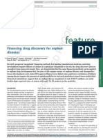 Financing Drug Discovery for Orphan Diseases