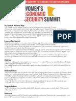 Women's Economic Security Act Fact Sheet