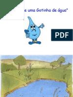 História da gotinha de água