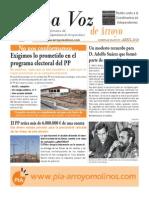 La Voz de Arroyo. Nº Abril 2014 www.pia-arroyomolinos.com