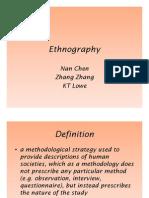 Microsoft Power Point - Ethnography
