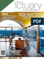 Sanctuary magazine issue 9 - sample - beautiful green homes