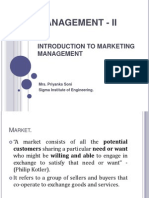 Management - II Module 1