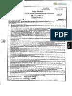 CBSE Class 09 PSA Question Paper January 2014 for Class 09