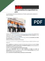 08-04-2014 Sexenio Puebla - Moreno Valle garantiza la seguridad en Semana Santa.